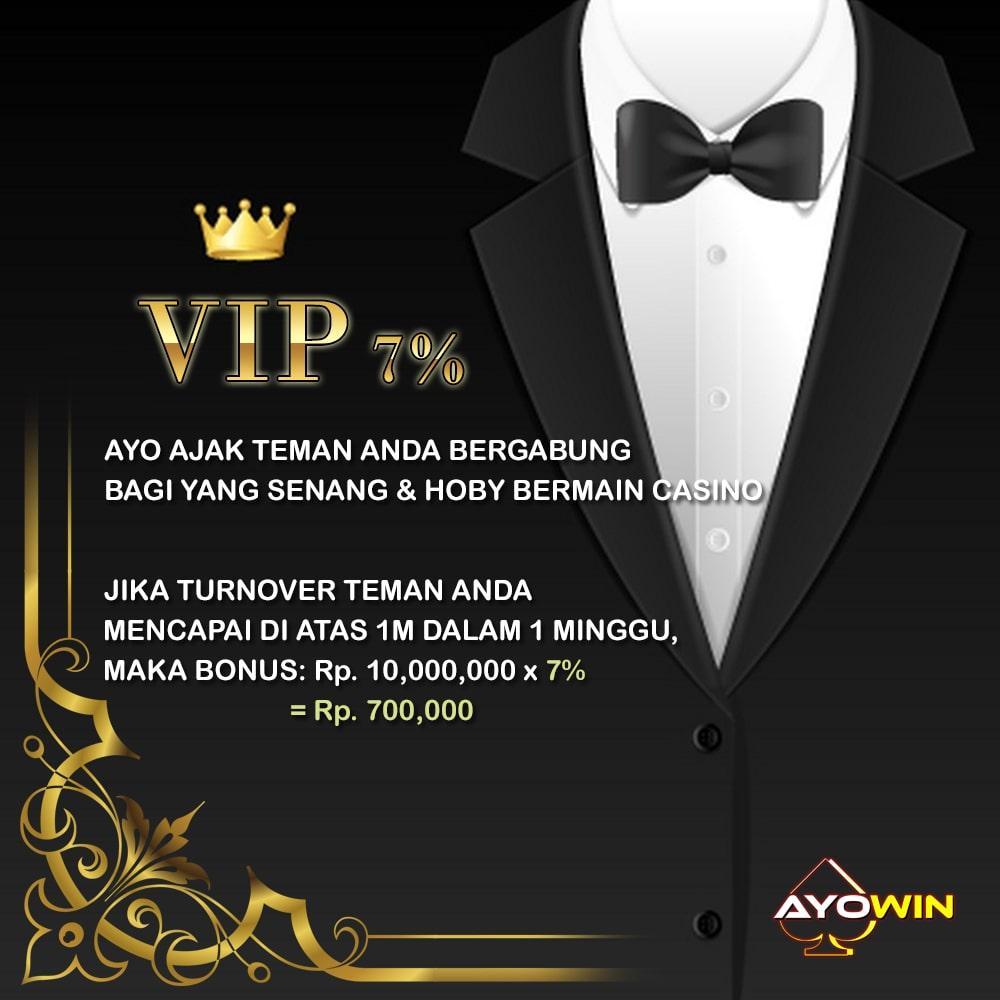 Ayowin VIP 7%